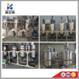 Professionnels de l'usine de raffinage de pétrole brut de la machine