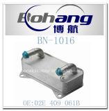 Refrigerador de petróleo de Audi A3/Qattro/Beetle de los recambios de Bonai/radiador autos (02E 409 061B)