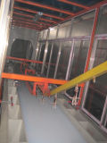 Ligne de peinture électrophorétique d'enduit de poudre avec l'homologation ISO9001
