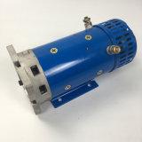 24V OEM высокая мощность гидравлического щёточного двигателя постоянного тока для мусора погрузчика