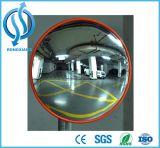 Движение выпуклого зеркала дороги безопасности проезжей части отражает зеркало стены
