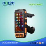 """인조 인간 5.0 """" 4G 선택적인 UHF를 가진 소형 데이터 단말기 PDA"""