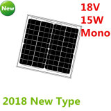 панель солнечных батарей 18V 15W Mono для системы 12V