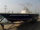Grande velocidade do barco de pesca desportiva de PRFV para venda
