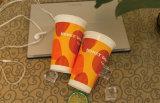 7 oz de agua potable fría desechables vasos de papel con impresión brillante brillante/.