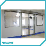 Дверь комнаты ICU автоматическая герметически закрытый
