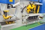 Máquina hidráulica de perfuração e de corte de Q35-20 da máquina da multi finalidade do Ironworker