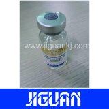 Escritura de la etiqueta impermeable modificada para requisitos particulares precio barato del frasco del holograma de la testosterona del diseño