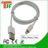 Cable de datos al por mayor del USB del teléfono de China para el cable de carga del iPhone, conector del cable C48 de Mfi
