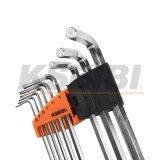 Kseibi 9-PC besonders langes Hex Schlüssel-Schlüssel-Set