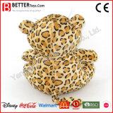 Os brinquedos macios do leopardo do luxuoso do animal En71 enchido para o bebê caçoam o presente