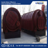 폐기물 타이어 기름 증류법 (기름 열분해) 장비