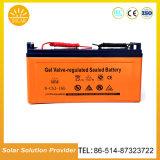 Intense réverbère solaire de la sûreté DEL de luminosité avec la batterie au bas