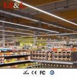 Alluminio sospeso/indicatore luminoso lineare per l'ufficio, illuminazione camera di equilibrio del pendente LED del supermercato