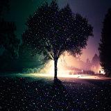 Nueva llegada Blisslights Verde y Azul paisaje estático Firefly láser, proyector de láser horizontal de la Navidad al aire libre