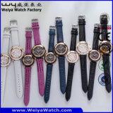 Orologi di modo delle coppie della vigilanza della cinghia di cuoio del ODM (Wy-072GA)