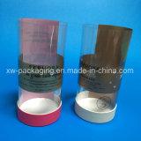 Caixa de empacotamento redonda plástica impressa alta qualidade