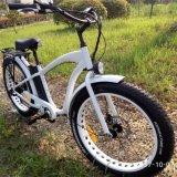 E-Bici 500W con el neumático gordo