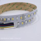 Цвет 5 совместил гибкую прокладку RGB+CCT СИД регулируемую