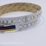 5 de kleur combineerde Flexibele LEIDENE Regelbare Strook RGB+CCT