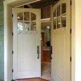 高品質の純木の内部の振動ドア