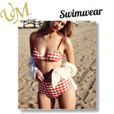 Новая конструкция обычной печати женщин взять с собой купальник Bukini изготовленный на заказ<br/> минимального заказа