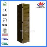 Цена деревянных штарок крытое складывая Louvered двери шкафа