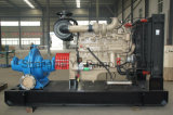 De grote Pomp van de Drainage van de Dieselmotor van de Zuiging van het Volume Dubbele Centrifugaal