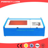 Mini precios del grabador del laser del sello de goma