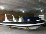 Liya 20pies casco rígido de lujo en botes inflables inflables Hypalon costilla