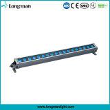 Super Bright 18*10W RGBW 4-en-1 LED Projecteur mural extérieur