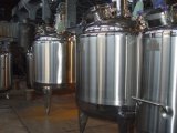 El tanque de mezcla de la calefacción de la chaqueta del vapor del acero inoxidable