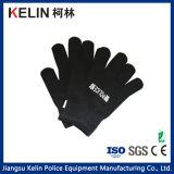 El material del PE de Kelin Anti-Cortó guantes