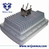 le fasce 40W 8 impermeabilizzano l'emittente di disturbo del segnale di GSM CDMA 3G 4glte WiFi GPS del telefono delle cellule (con costruito in batteria)