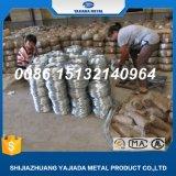 Fil obligatoire galvanisé Bwg20 de fil de fer au marché de Moyen-Orient