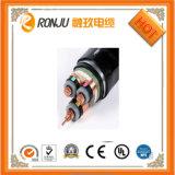 Cable de transmisión acorazado del aluminio XLPE del aislante del PVC de la cinta de acero de alto voltaje de la envoltura