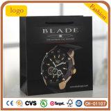 El alto grado de Black Watch bolsa, bolsa de papel de regalo, ver la bolsa de papel