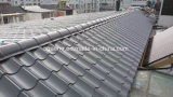Le mattonelle di tetto antiche del metallo hanno lustrato le lamiere di acciaio galvanizzate colore per il tetto
