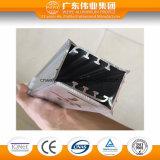 샤워실 사용 알루미늄 밀어남 단면도 커튼 알루미늄 로드