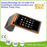 Dubbele Mobiele POS van de Scanner van de Laser van het Scherm 3G Terminal (PC900)