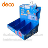 Kinds off Cardboard Cosmetic Display, Paper Counter Retail Display Puts