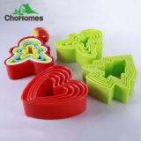 Coupeurs de biscuit de forme d'acier inoxydable de Noël différents pour des gosses