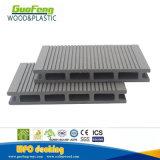 Decking composto plástico de madeira resistente do Decking WPC