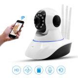 Cámaras de seguridad sin hilos del hogar de la cámara del IP del monitor de la cámara del bebé del CCTV de barato tres antenas