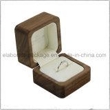 Caja de embalaje de madera roja laqueada brillante de la alta calidad brillante de la pintura para el conjunto de la joyería o del regalo