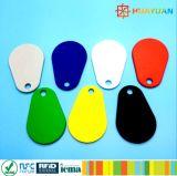 NTAG213 NTAG215 Ntag216 RFID Overmolded Peer NFC Keyfob