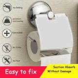 Vakuumtoilettenpapier-Halter-Hochleistungsabsaugung-Wand-Montierungs-Toiletten-Seidenpapier-Halter-Badezimmer-Papier-Rollenhalter