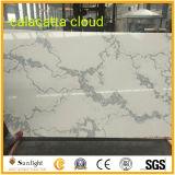 Облака Calacatta кварцевого камня слоя REST/Quartz камня кухонном столе/Quartz камня