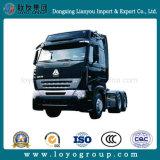 De Vrachtwagen van de Tractor van Sinotruck HOWO A7 290-420HP 6X4