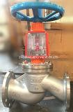 L'ossigeno severo olio ha flangiato valvola di globo